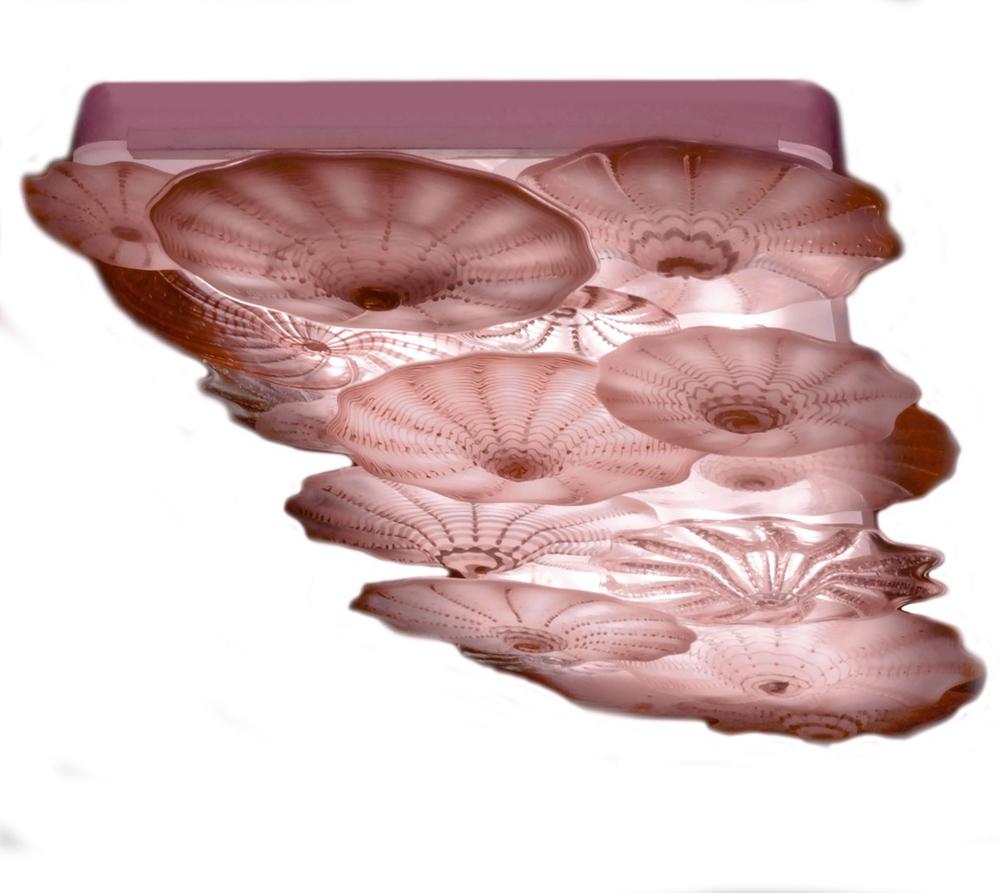 LED box lamp DiTaylor Pink rondels