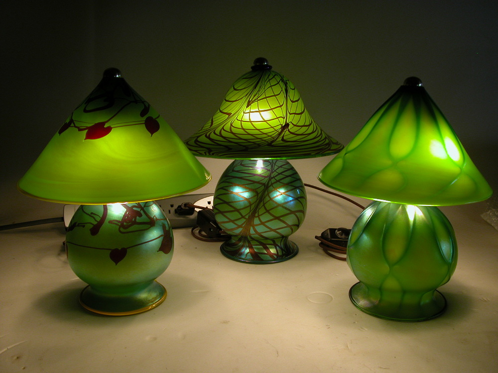 Assorted Moss Gem Lamps