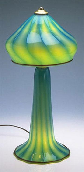 Turquoise Lemon Mushroom
