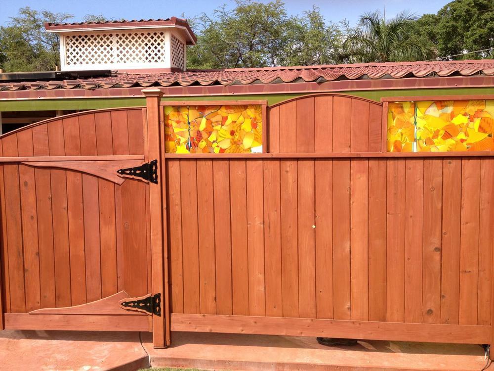 outdoor panels Maui Meadows papaya