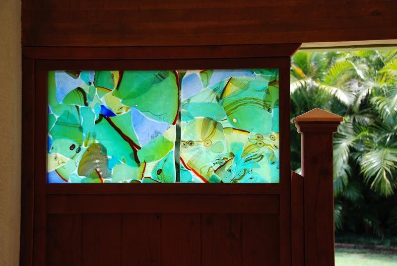 outdoor panels Maui Meadows Aquarium series