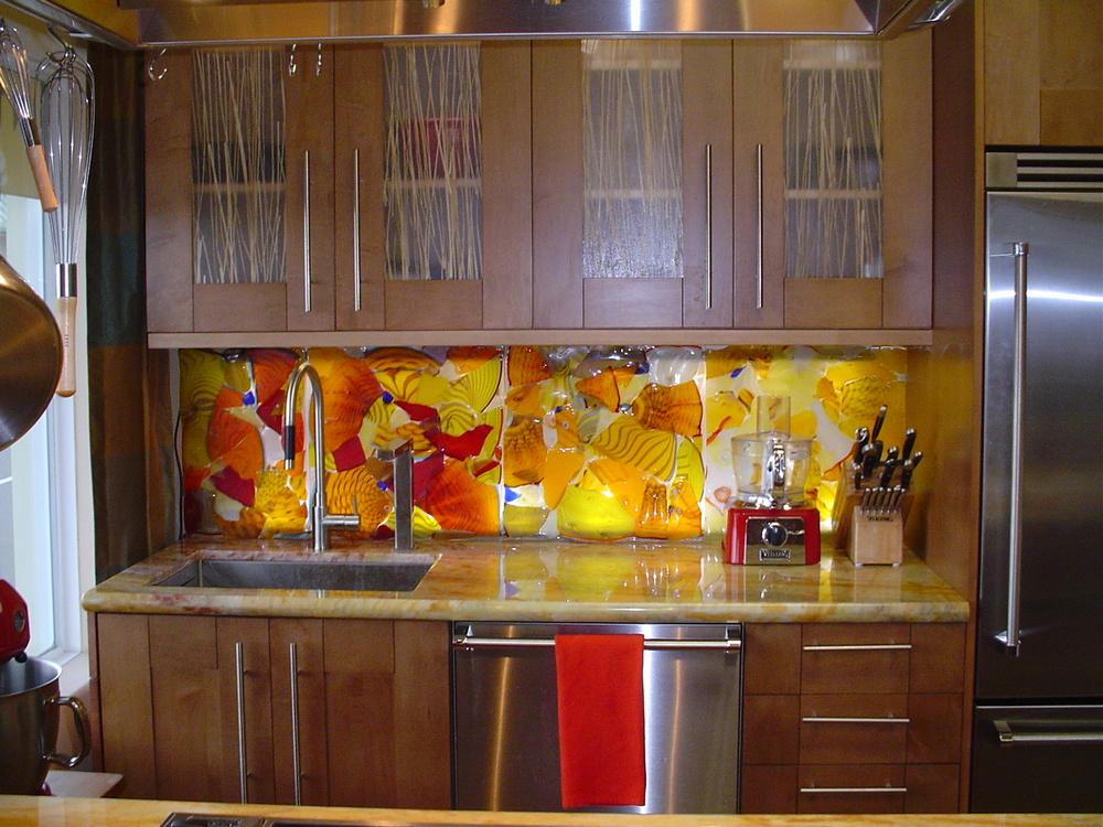 Kitchen back splash Valorie Spence