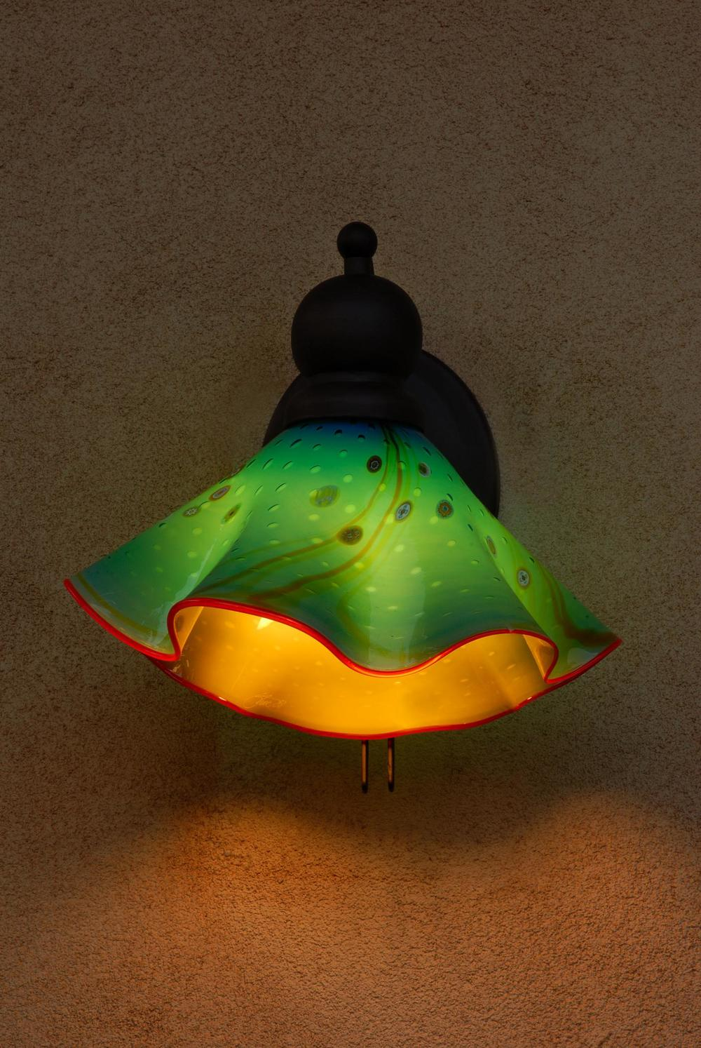 Aquarium Ruffle Outdoor Lamps