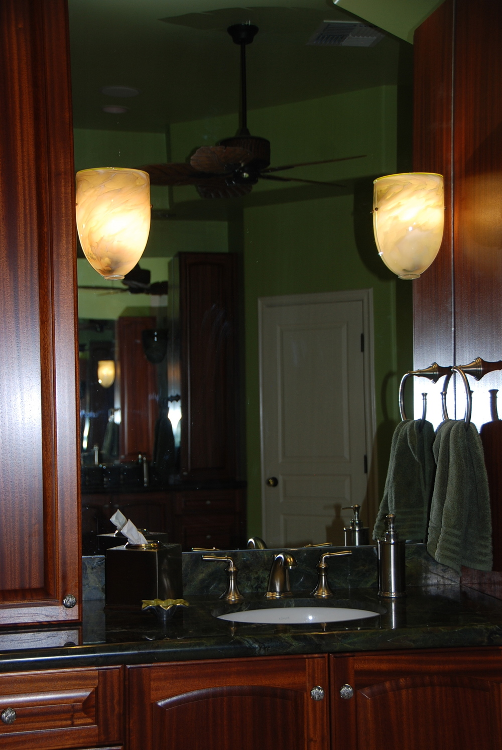 Custom Flush Wall Sconces