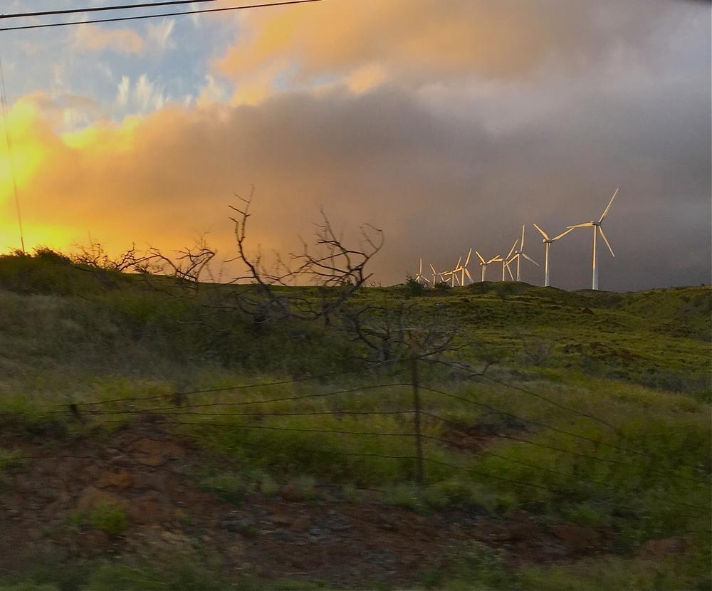 Maui 2015 wind farm.