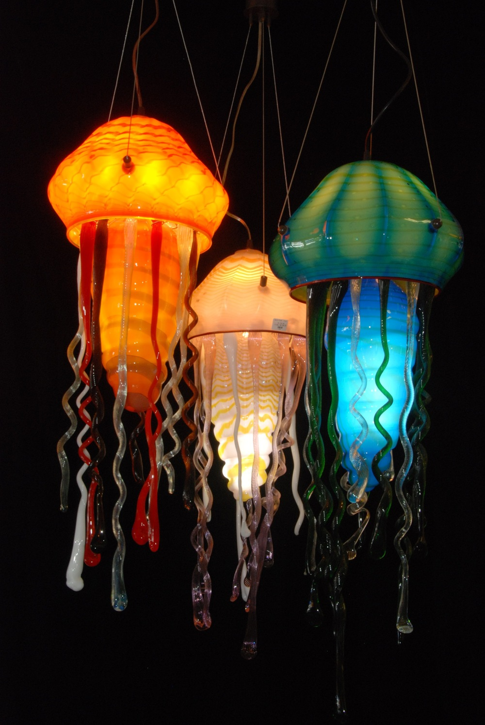Pendant Jellyfish artist rick strini hi res .JPG & Strini Art Glass Custom LightingstriniartglasscustomlightingGlass ... azcodes.com