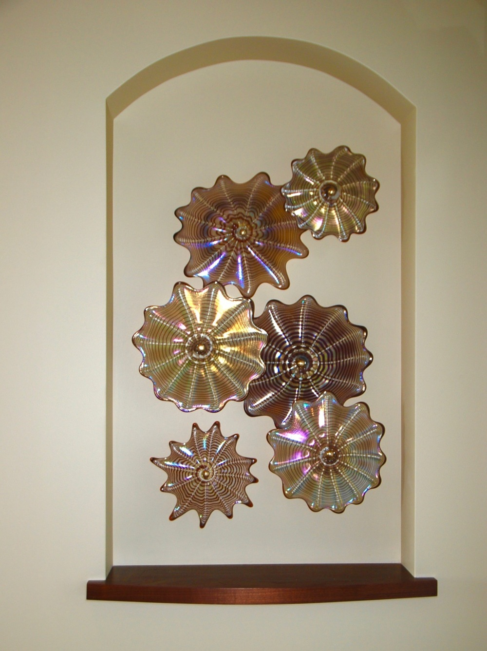 double niche wall splash Kihei,Hi. strini art glass 007.jpg