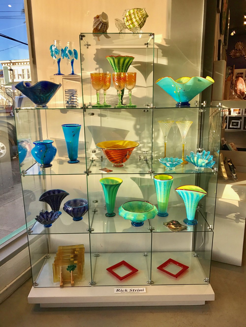 Display for April -MayMaui Crafts Guild, Paia , Maui,  Hawaii
