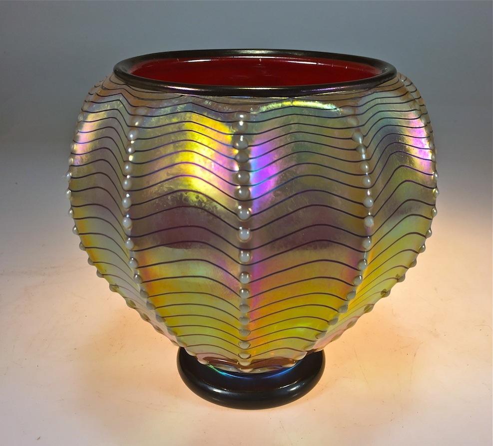 Florentine Coral Pot, 2017rick strini artist