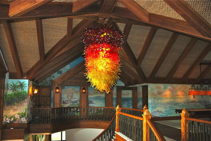 Pele chandelier 1000 pieces 5' x 7'  artist rick strini 13.JPG