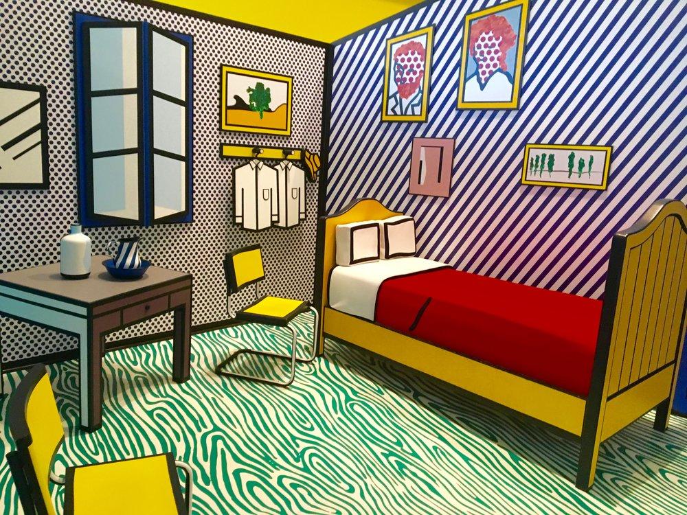 Lichtenstein exhibit at the Skirball