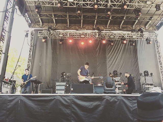 Thanks for the @bottlerocknapa photo Izzy! #bottlerock16 #ampegsvt #musicfestival