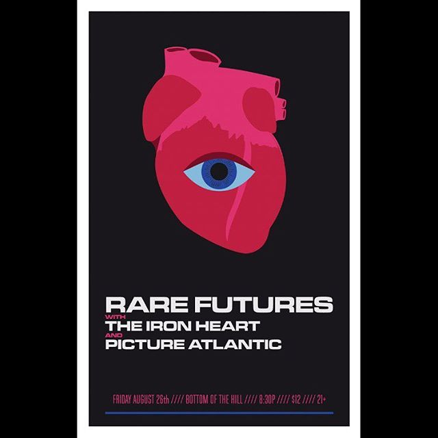The Iron Heart with @pictureatlantic and @rarefutures #bottomofthehillsf Friday August 26th.