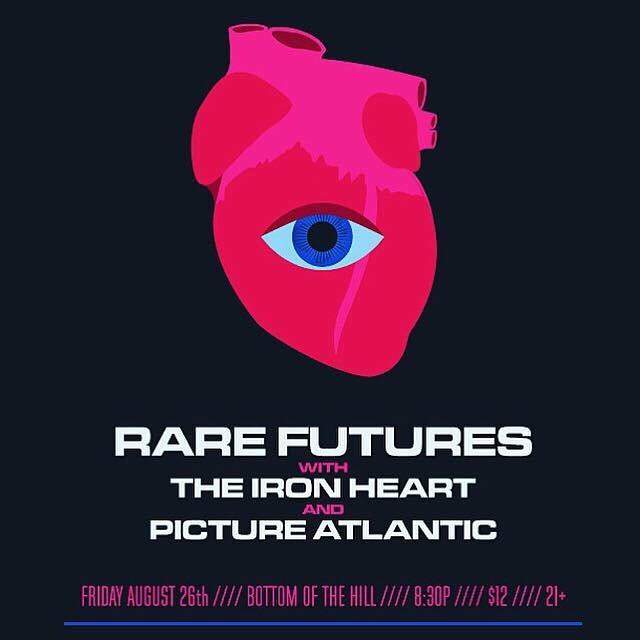 Tonight with @pictureatlantic and @rarefutures at @bottomofthehillsf
