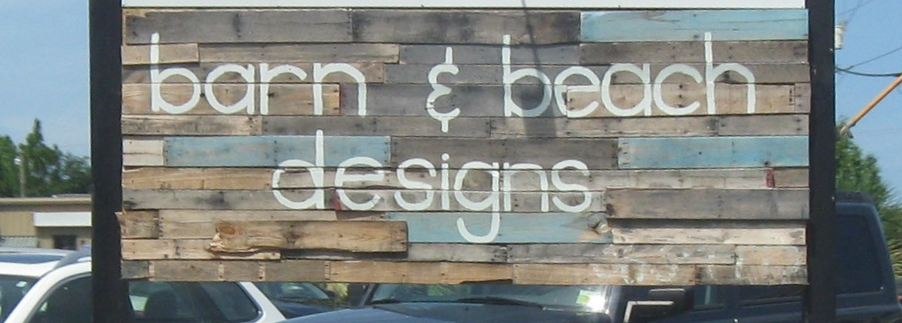 What a cute sign! This store on Oak Island had beautiful local arts and crafts