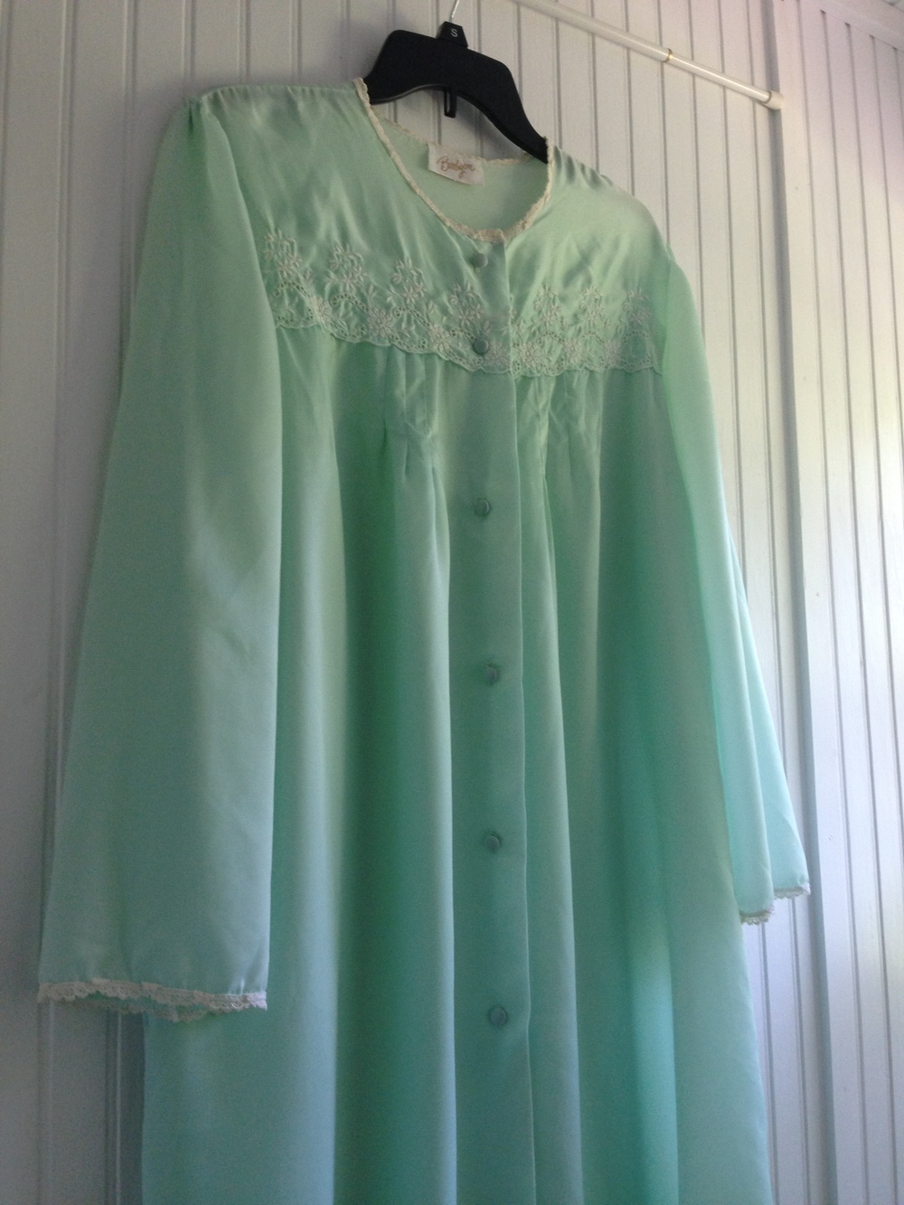 "Vintage nightgown bought at ""Stuff"""
