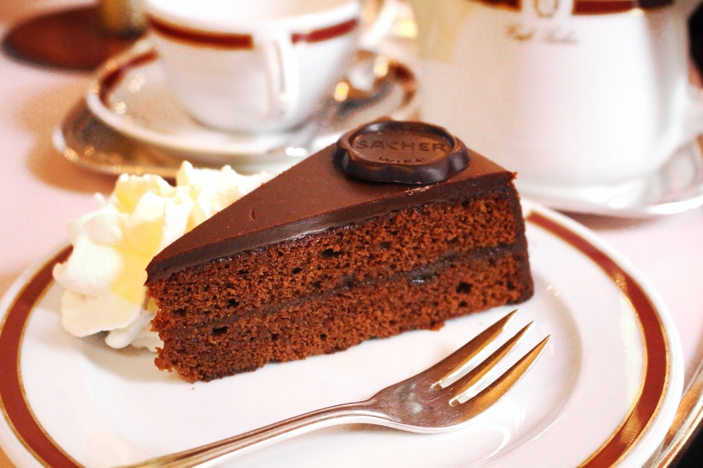 Sachertorte at Hotel Sacher