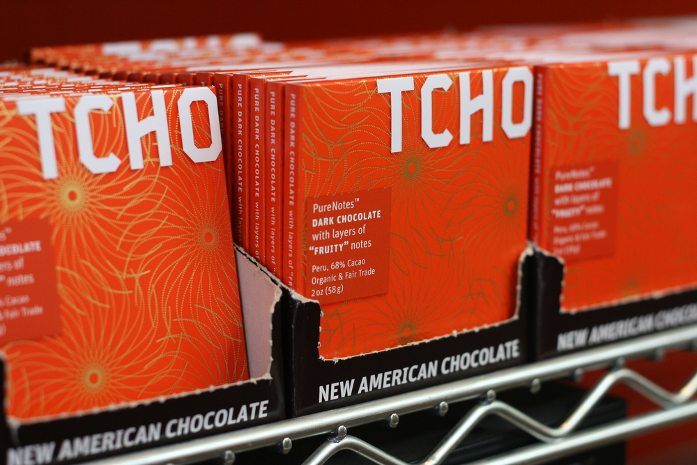 TCHO bars (Photo: Anne Banas)