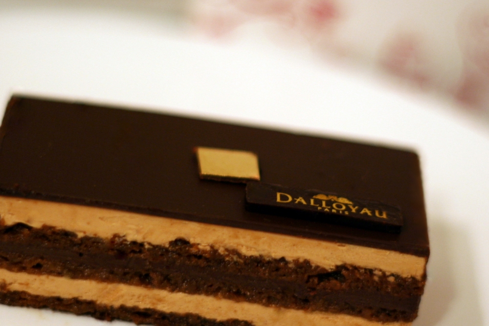 Dalloyau Gateau Opera slice (Photo: Anne Banas)