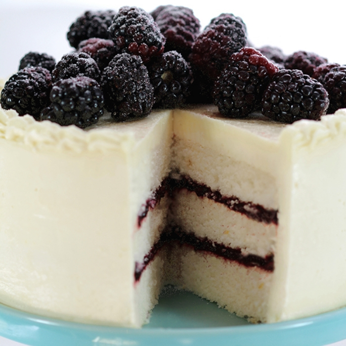 Blackberry-Lemon Cake