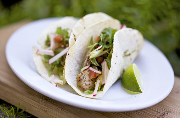 Lionfish tacos (Photo: The Genuine Hospitality Group)
