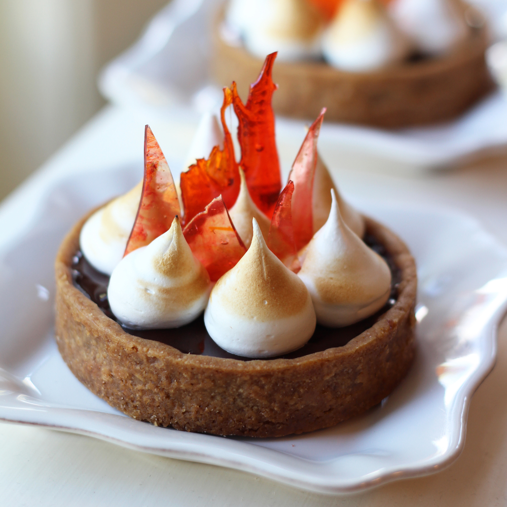 """Posh"" S'more Tart"