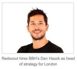 Dan Hauck Redscout London