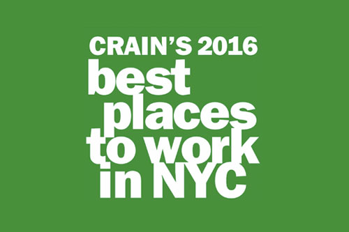 Humbled + proud to share that Redscout has been named among the top 100 Best Places to Work in NYC by Crain's New York. Read more.