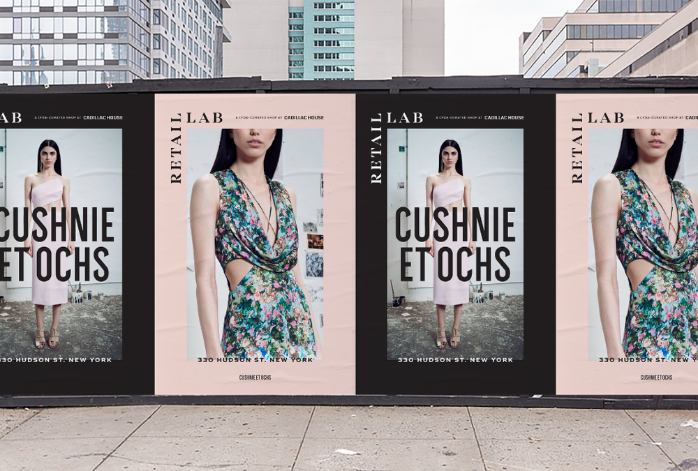 Redscout developed the visual identity for The Retail Lab, an innovative new program launched by the CFDA and Cadillac. Learn more.