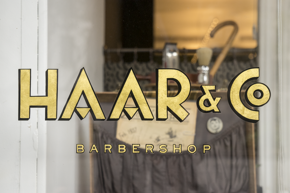 We helped bring Master Barber Michael Haar's vision for Haar & Co. Barbershop, an iconic new NYC brand, to life.   L    earn more  .