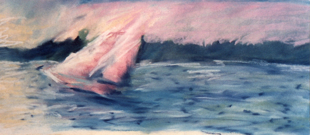 Returning Sailboat