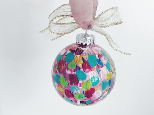 Hand Painted Christmas Ornaments Meredith Parker