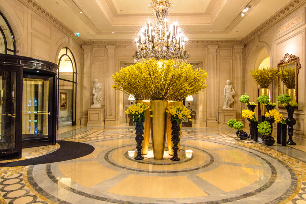 Travel Tag Four Seasons Hotel George V Paris The Road