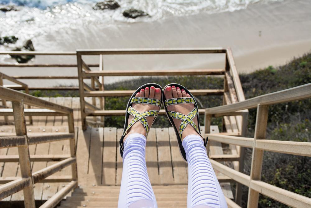 los-angeles-california-el-matador-beach-venice-santa-monica-will-rogers-manhattan-teva-float-sandals