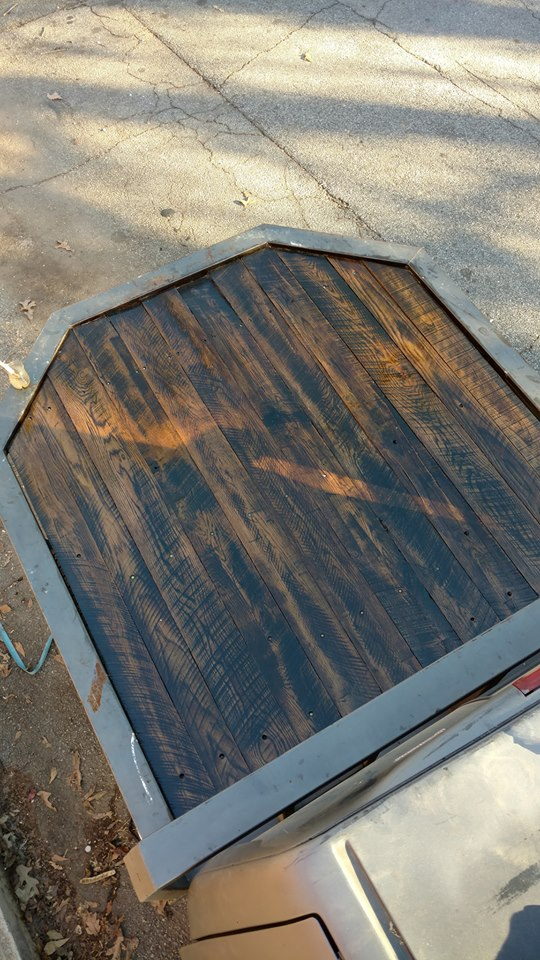 Stained Oak on a Truck Bed, say whaaaaaaat??