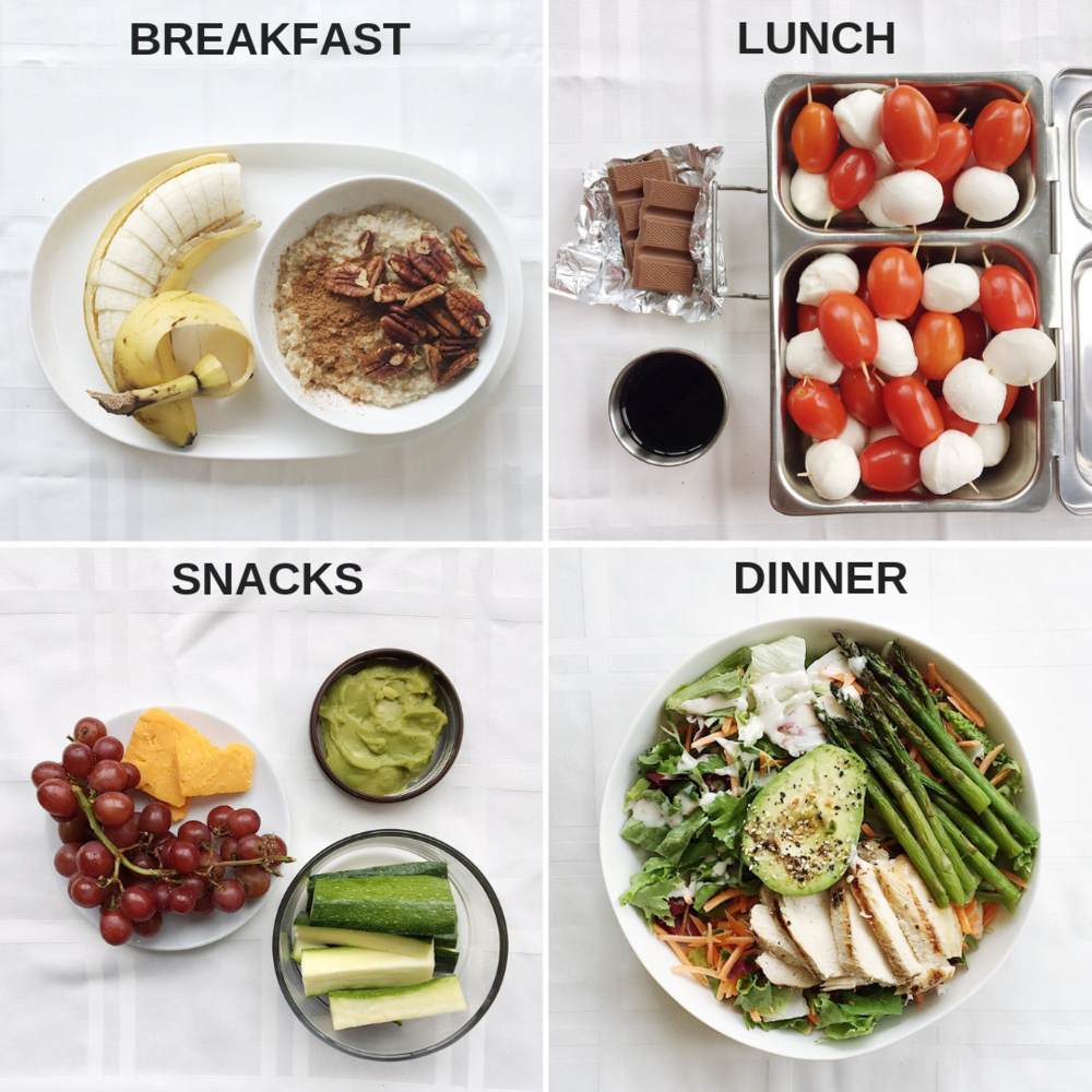 Meal Plan with Oatmeal and Caprese Bites.png