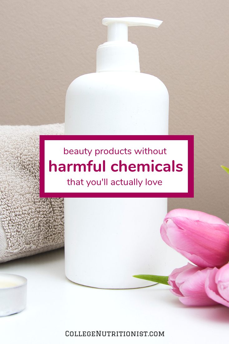 beauty products without harmful chemicals that you'll actually love
