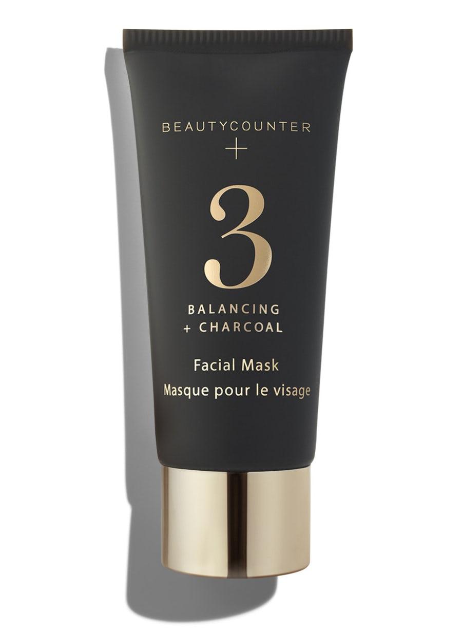 beautycounter no3 charcoal mask