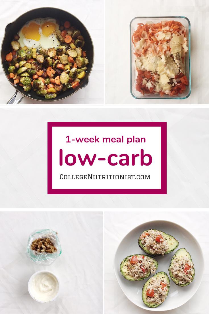 low carb meal plan 1400 calories