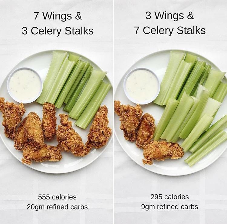 how to eat healthy at a super bowl party or tailgate