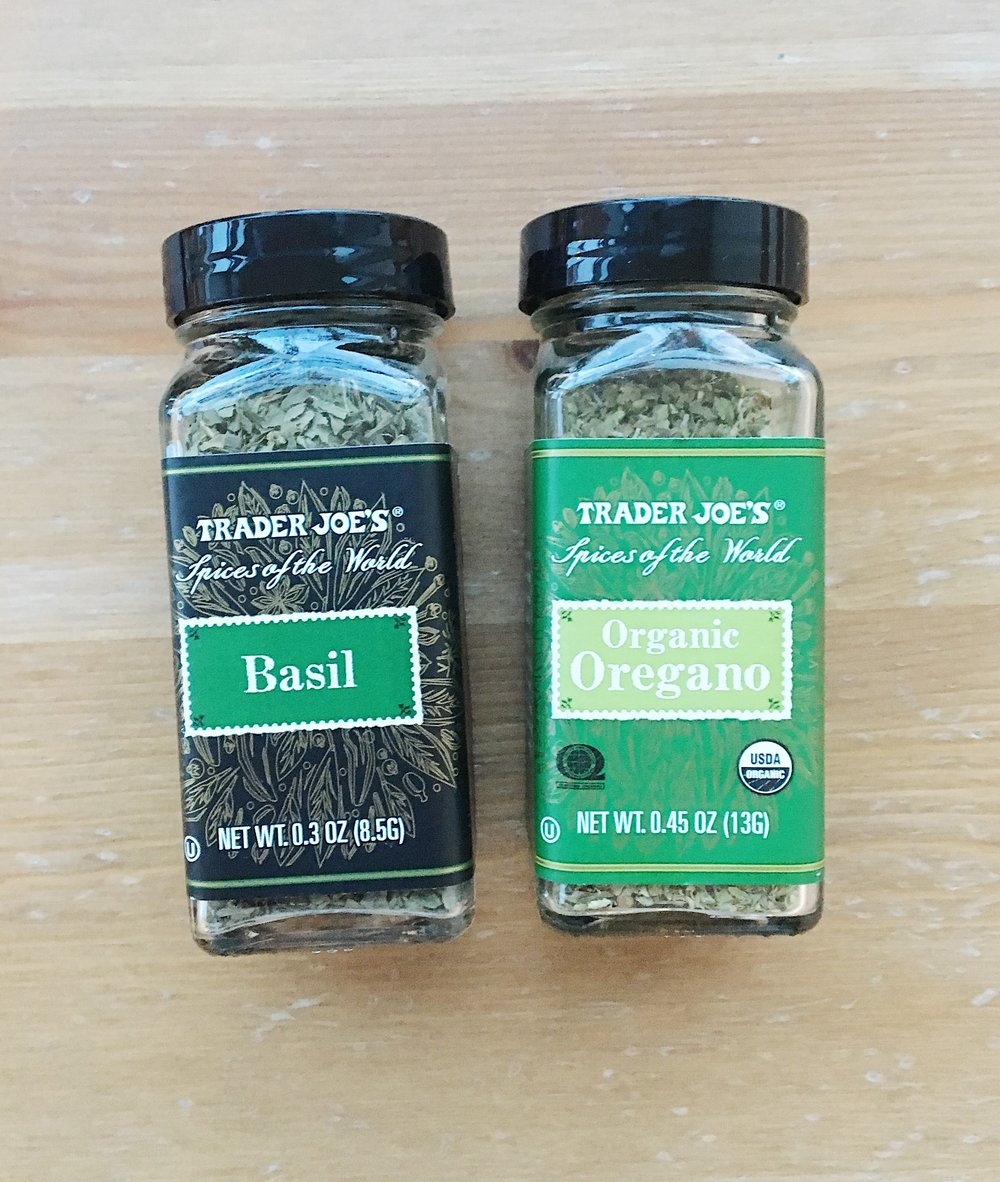 Trader Joe's Basil and Oregano