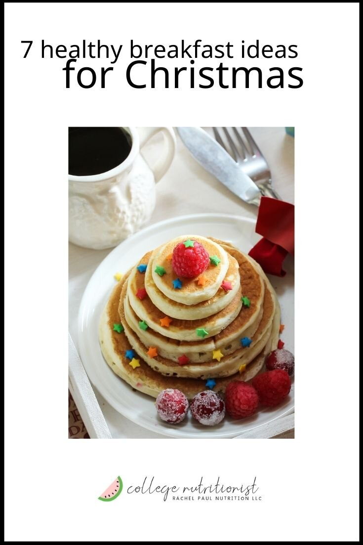 Seven Healthy Breakfast Ideas For Christmas Morning The College Nutritionist