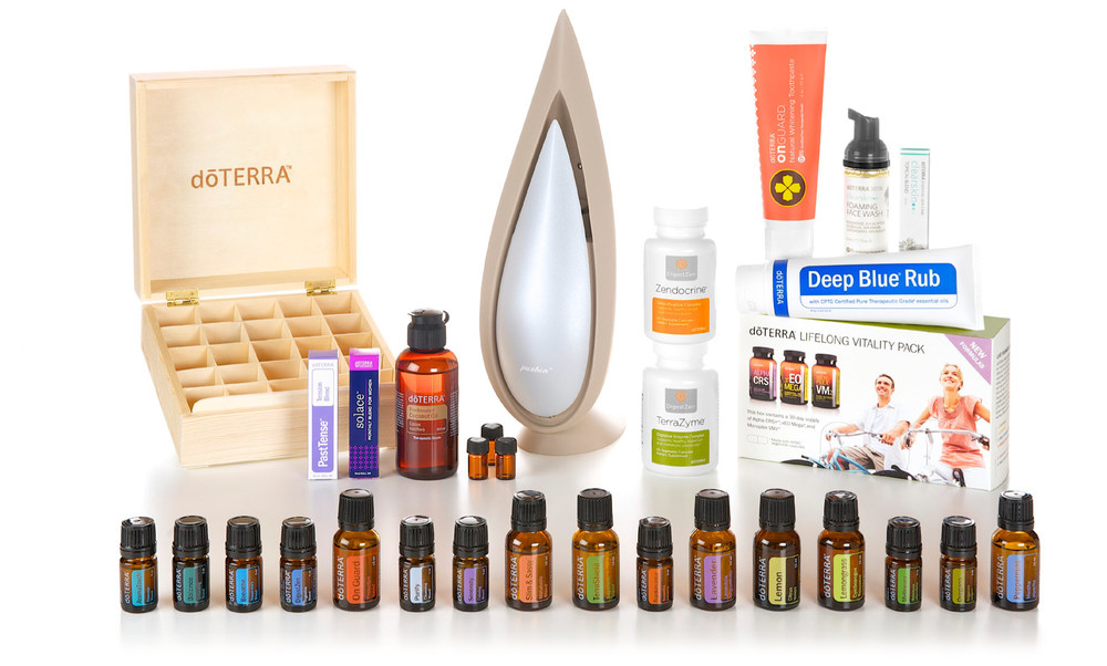 dōTERRA's Natural Solutions Kit - an excellent way to get started with the essentials!!!
