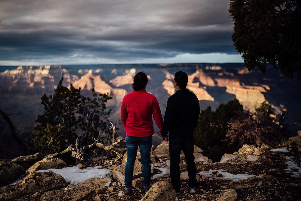 South Rim, Grand Canyon Surprise Proposal
