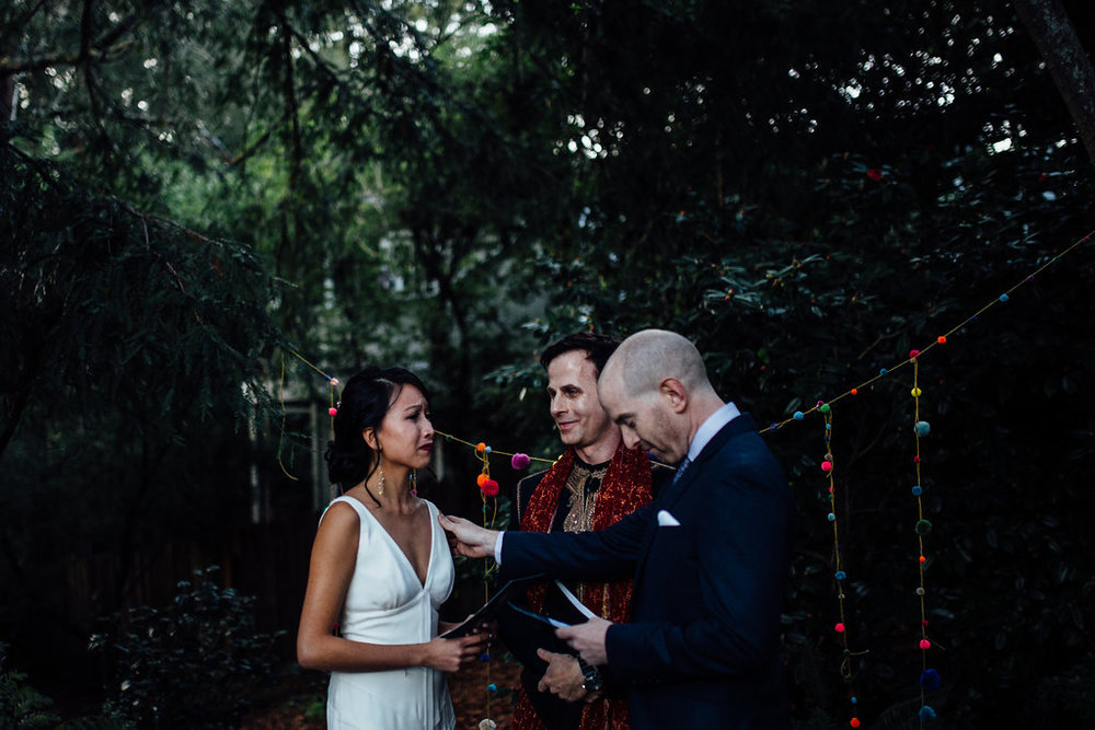 Outdoor Art Club Wedding