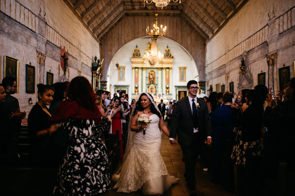 Mission San Jose Church Wedding