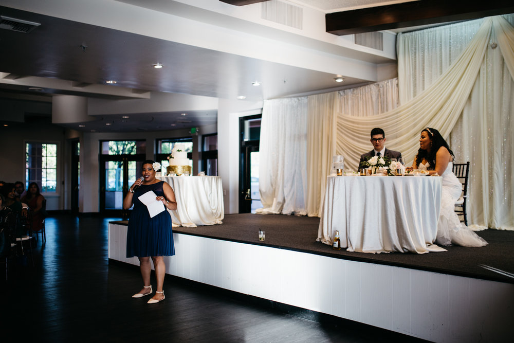 Canyon View Banquet Hall Wedding Reception