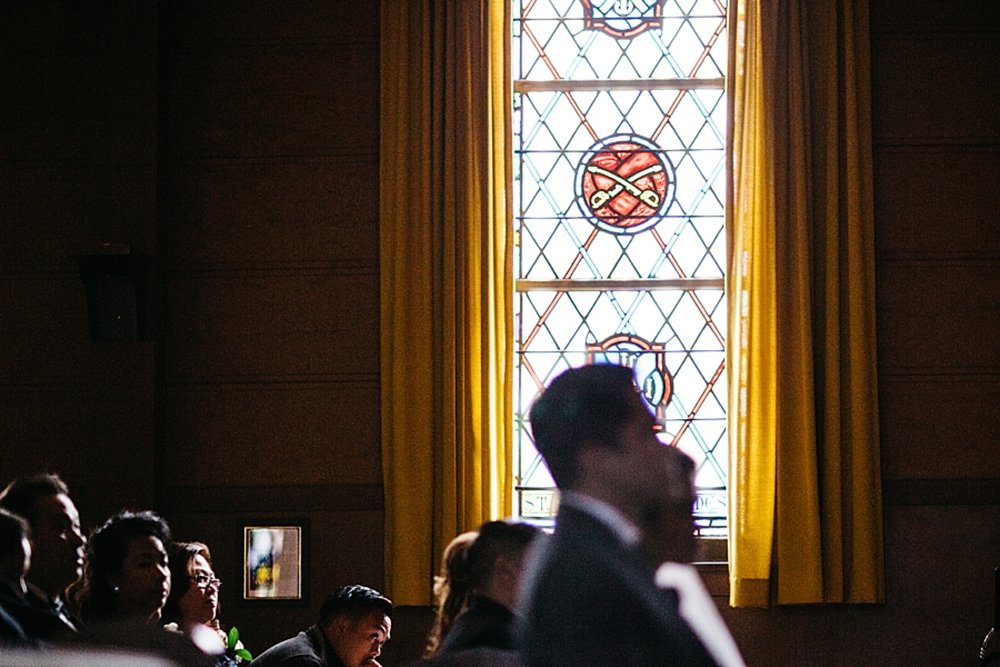 Fort Mason Chapel wedding