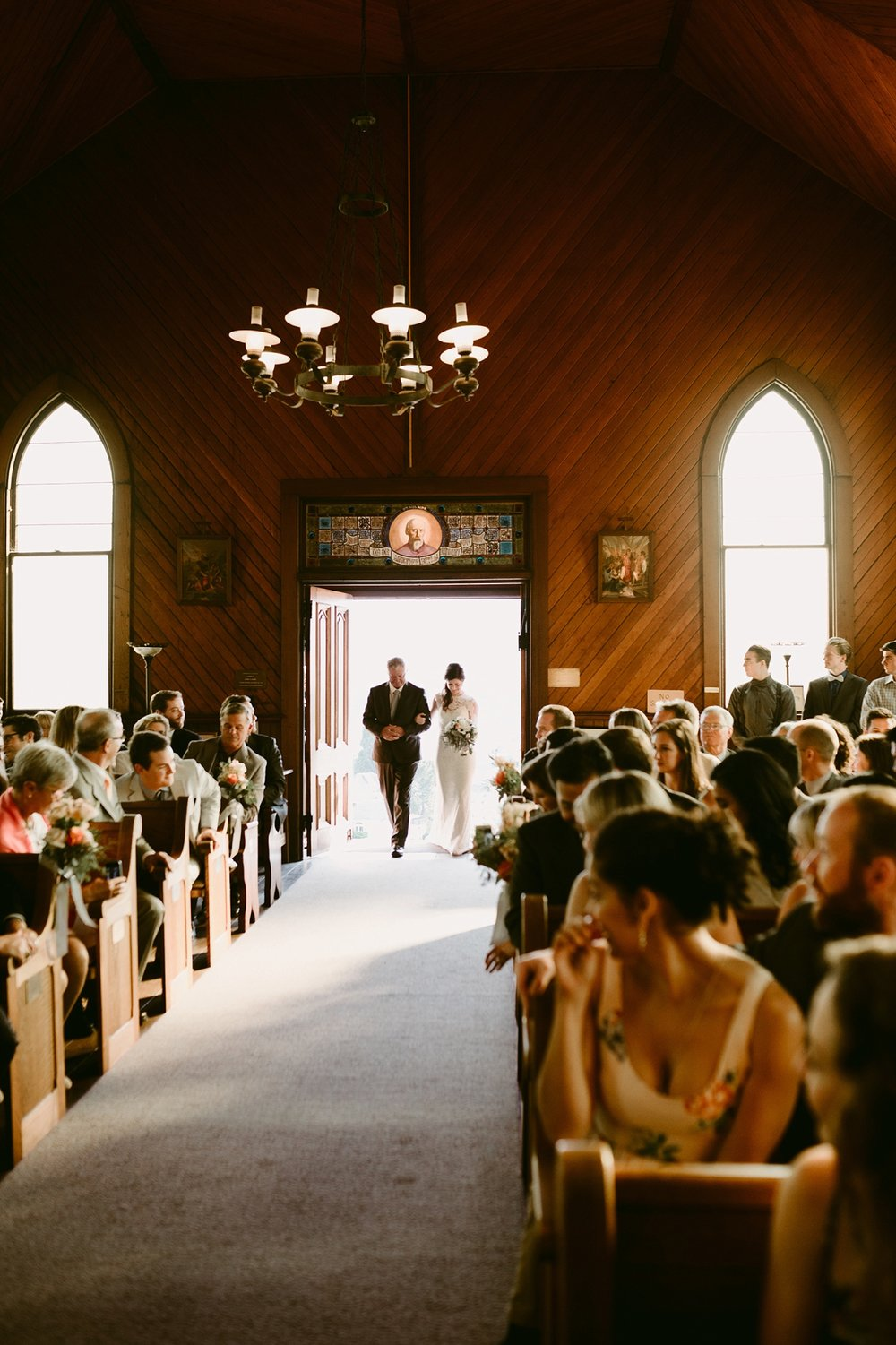 old st. hilary's church wedding