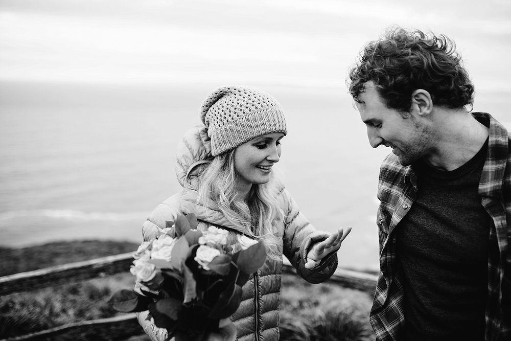 point reyes marriage proposal - sf wedding photographers - sf bay area wedding photographers